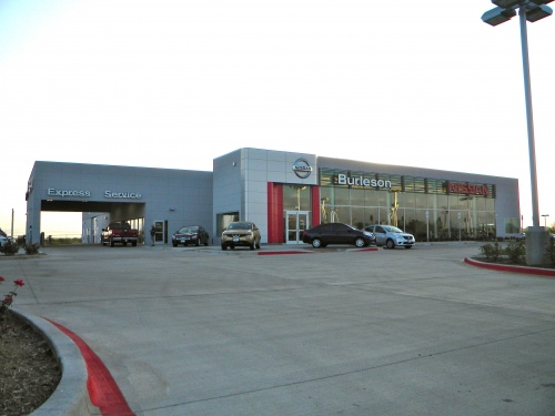 Nissan Of Burleson >> Automotive Projects Black Corley Owens Hughes Architects